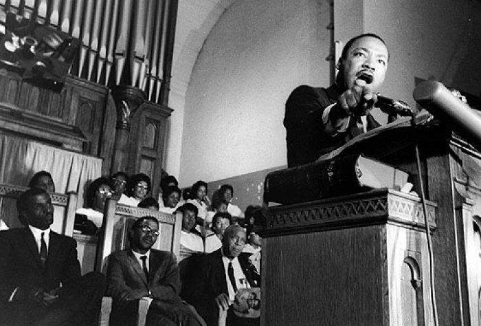King preaching